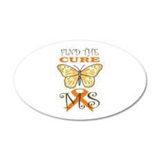 FIND THE CURE FOR MS Wall Decal