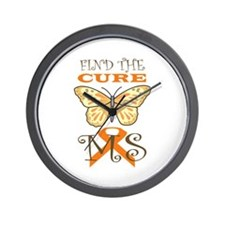 FIND THE CURE FOR MS Wall Clock
