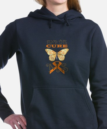 FIND THE CURE FOR MS Women's Hooded Sweatshirt