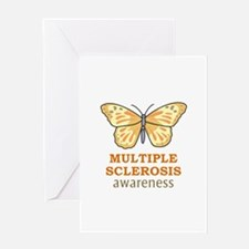 MULTIPLE SCLEROSIS AWARENESS Greeting Cards