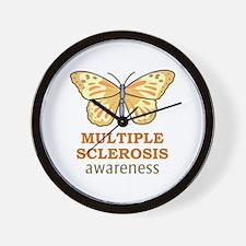 MULTIPLE SCLEROSIS AWARENESS Wall Clock