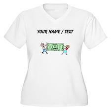 Stretching Dollar (Custom) Plus Size T-Shirt