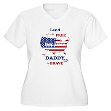 Mil Child Dad- T-Shirt