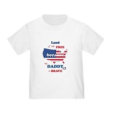 Mil Child Dad- T-Shirt
