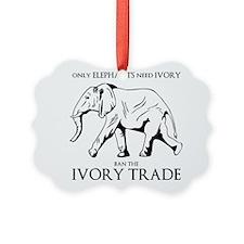 Elephant Ivory Ornament