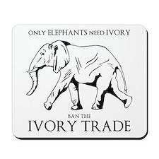 Elephant Ivory Mousepad