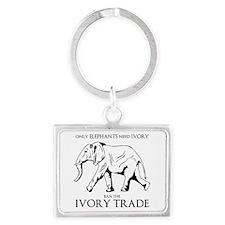 Elephant Ivory Keychains