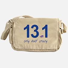 13.1 Only Half Crazy Messenger Bag