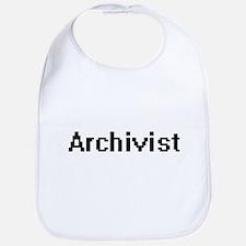 Archivist Retro Digital Job Design Bib