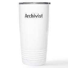Archivist Retro Digital Travel Mug