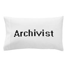 Archivist Retro Digital Job Design Pillow Case