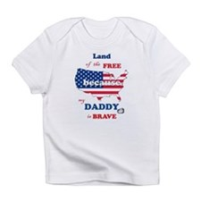 Mil Child Dad- Infant T-Shirt