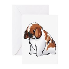 HOLLAND LOP EAR RABBIT Greeting Cards