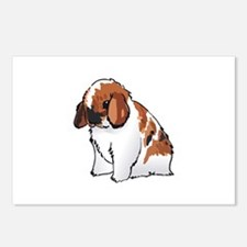 HOLLAND LOP EAR RABBIT Postcards (Package of 8)