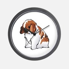 HOLLAND LOP EAR RABBIT Wall Clock