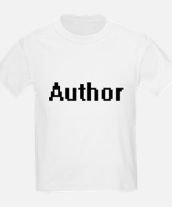 Author Retro Digital Job Design T-Shirt