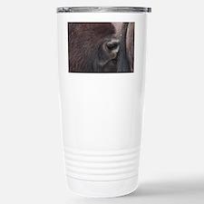 Bison Romance Stainless Steel Travel Mug