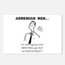 Armenian Men Postcards (Package of 8)