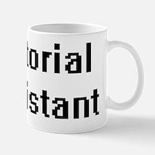 Editorial Assistant Retro Digital Job D Mug