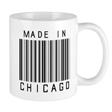Chicago barcode Mugs