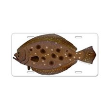 Summer Flounder Aluminum License Plate
