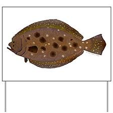 Summer Flounder Yard Sign