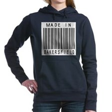 Bakersfield barcode Women's Hooded Sweatshirt