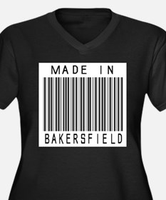 Bakersfield barcode Plus Size T-Shirt