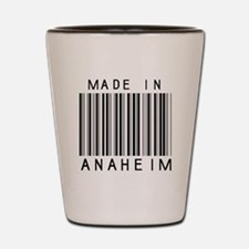 Anaheim barcode Shot Glass