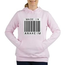 Anaheim barcode Women's Hooded Sweatshirt