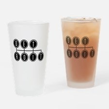 Detroit Shift Drinking Glass