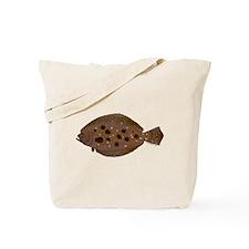 Summer Flounder Tote Bag