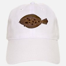 Summer Flounder Baseball Baseball Baseball Cap