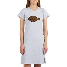 Summer Flounder Women's Nightshirt