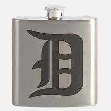 Cute Detroit Flask
