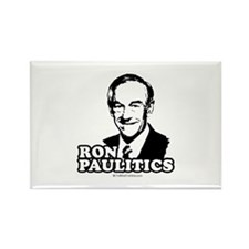 Ron Paul 2008: Ron Paulitic Rectangle Magnet