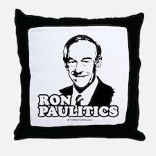 Ron Paul 2008: Ron Paulitic Throw Pillow
