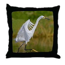 Elegant Dancing Throw Pillow