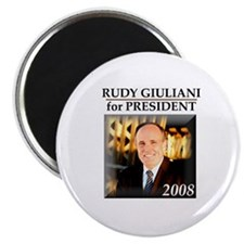 "Rudy Giuliani for President '08 2.25"" Magnet (100"