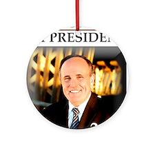 Rudy Giuliani for President '08  Ornament (Round)