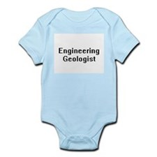 Engineering Geologist Retro Digital Job Body Suit