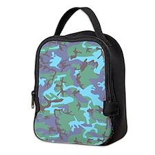 Camouflage Neoprene Lunch Bag