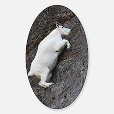 Mountain Goat Sticker (Oval)