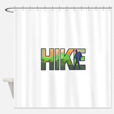 HIKE Shower Curtain
