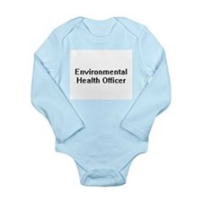 Environmental Health Officer Retro Digit Body Suit