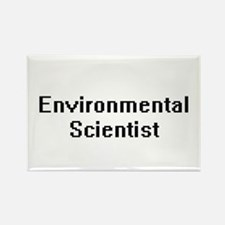 Environmental Scientist Retro Digital Job Magnets
