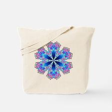 BUTTERFLY BLUE MANDALA Tote Bag