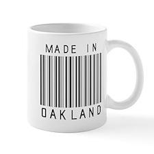 Oakland Barcode Mugs
