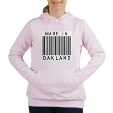 Oakland Barcode Women's Hooded Sweatshirt