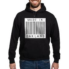 Oakland Barcode Hoodie